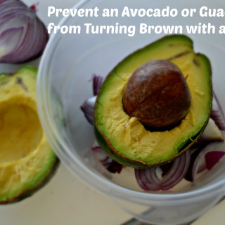 Prevent an Avocado from Turning Brown with an Onion