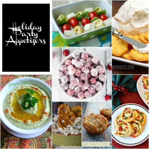 Holiday Appetizer Roundup