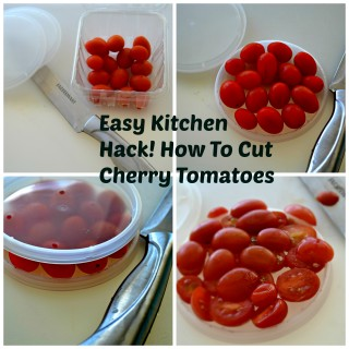 Kitchen Hack: How To Cut Cherry Tomatoes