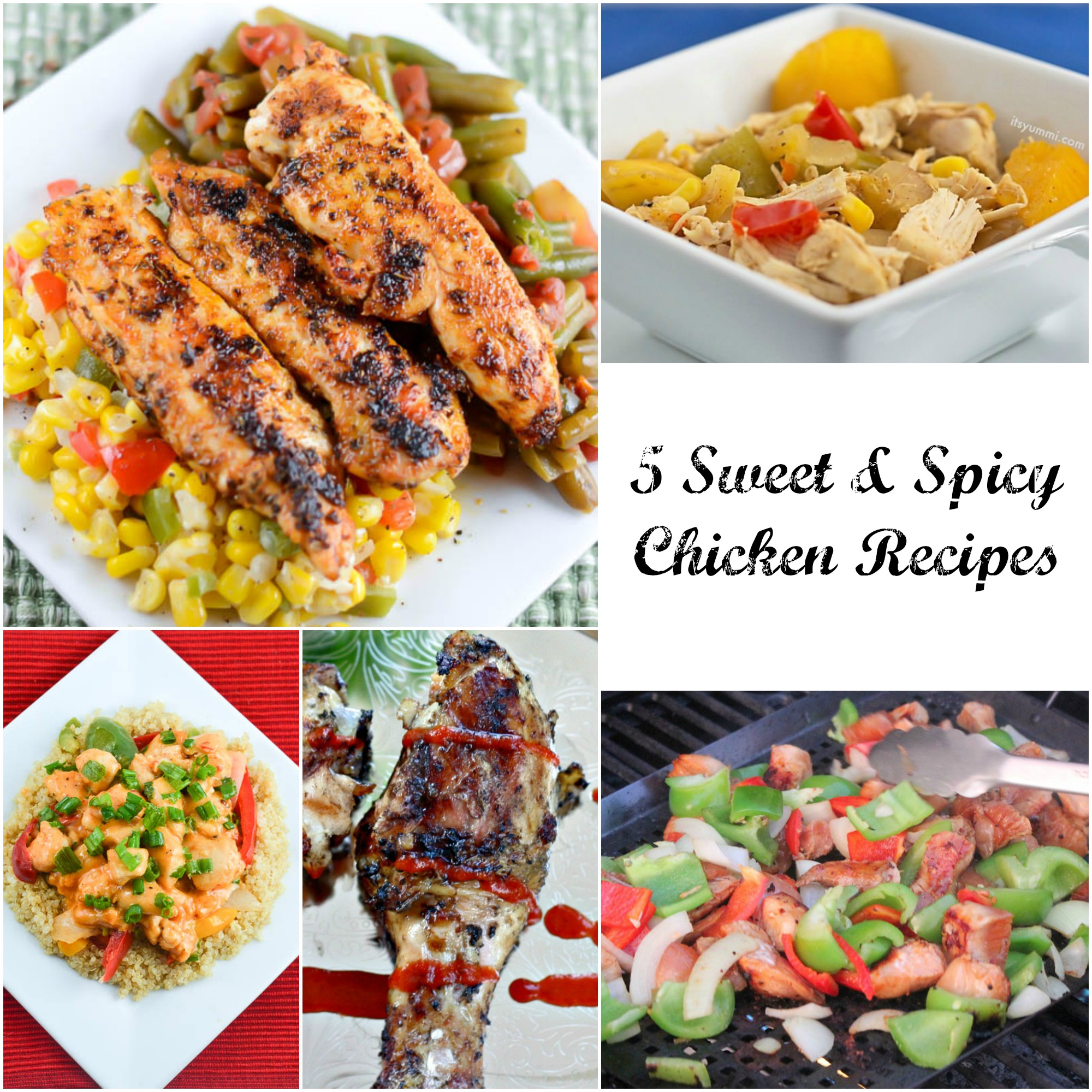 healthy chicken recipes, chicken, healthy eating, spicy chicken, sweet chicken