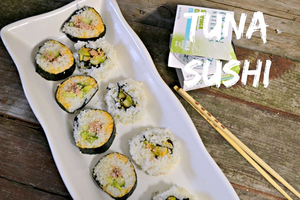 This tuna sushi is simple to make, great for lunch or dinner