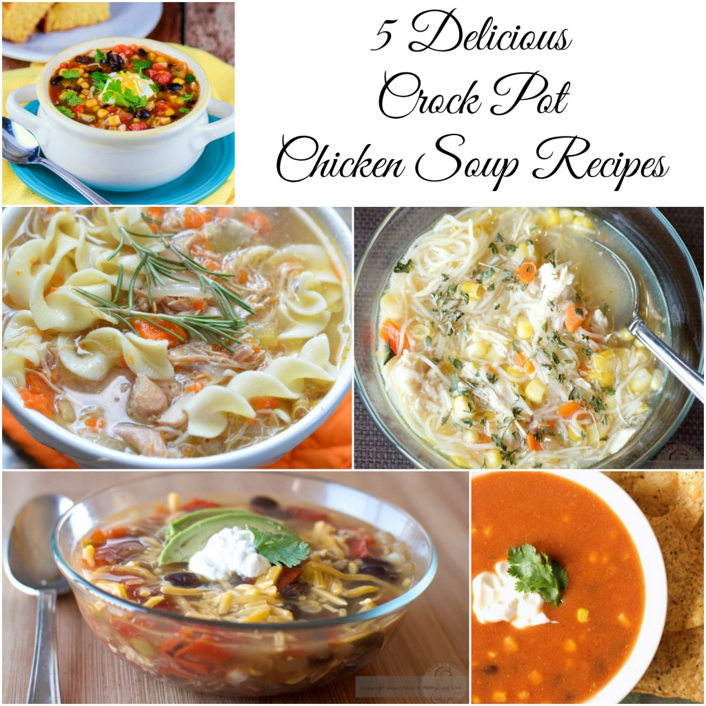 5 Delicious Crock Pot Chicken Soup Recipes