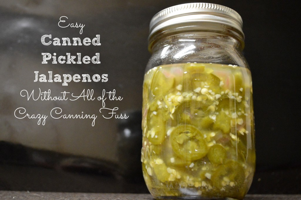 Simple Low Sodium Pickled Jalapeños Recipe