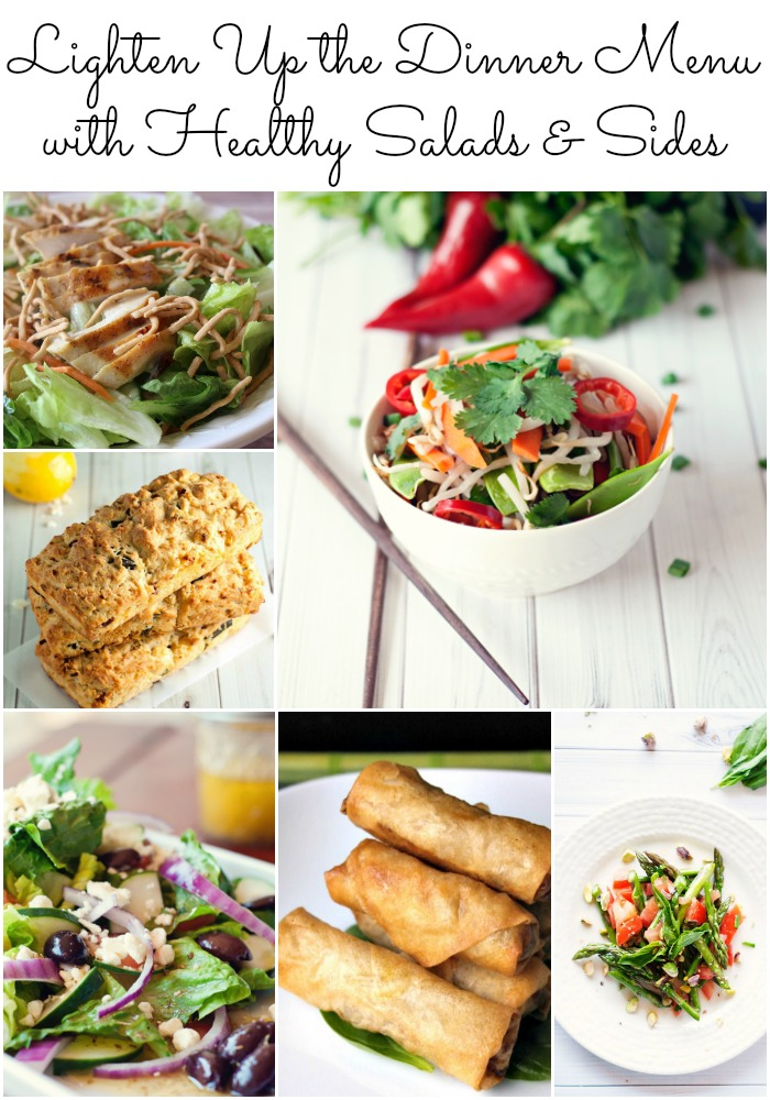 Lighten up the dinner menu with these 6 salad and side dish recipes #SoFab