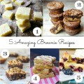 The 5 best brownie recipes you'll ever try #SoFab