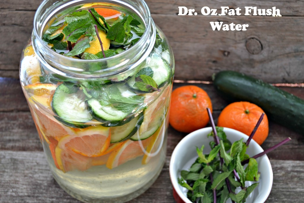 Dr Oz Fat Flush Water