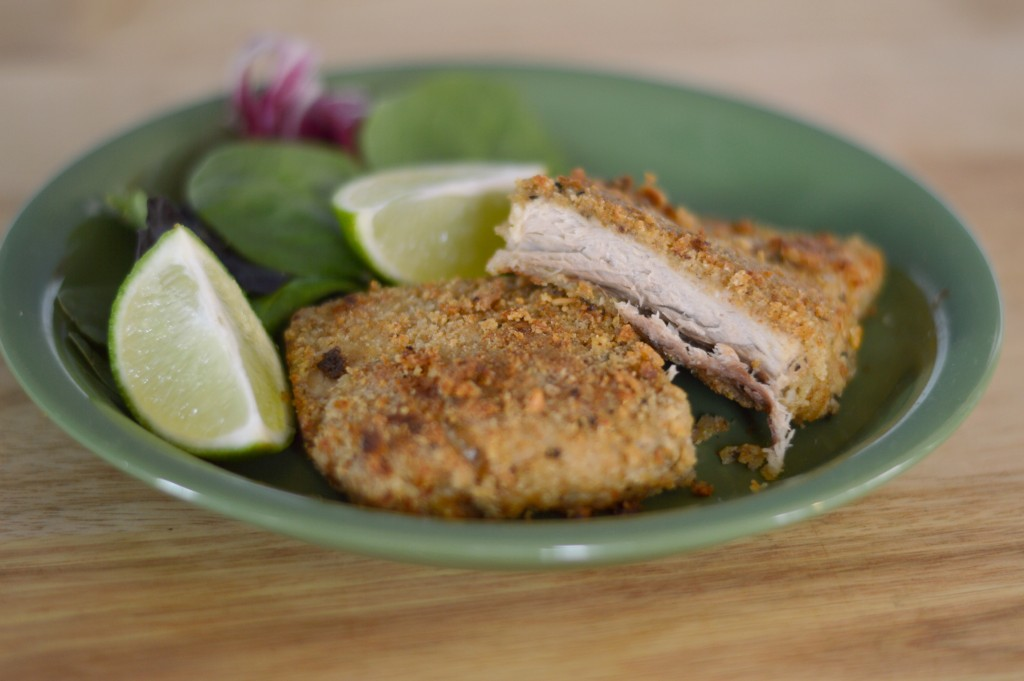 Oven Fried Mahi Mahi #SoFabFood