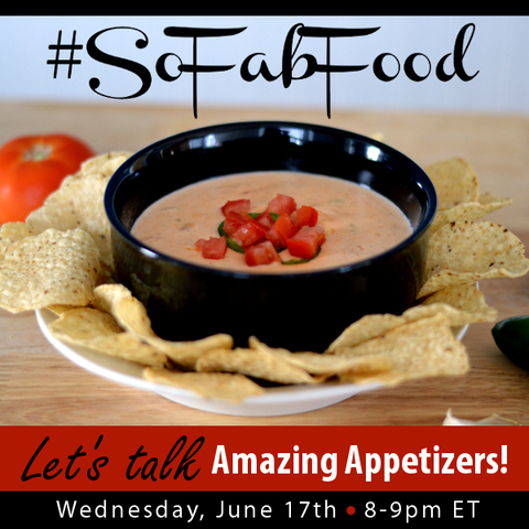 Appetizer Twitter Chat #SoFabFood