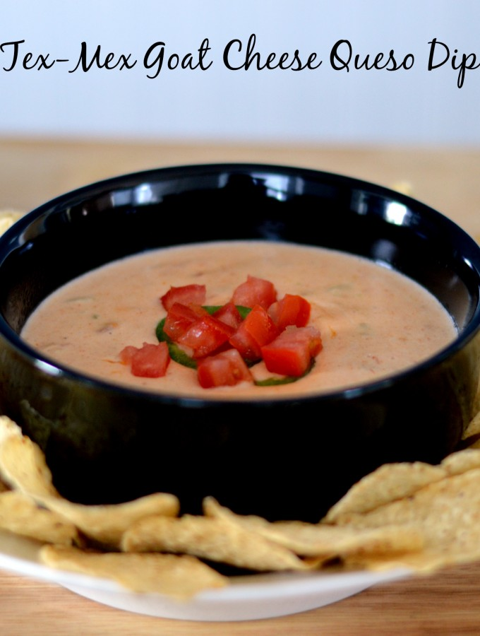 Tex Mex Goat Cheese Queso Dip Recipe