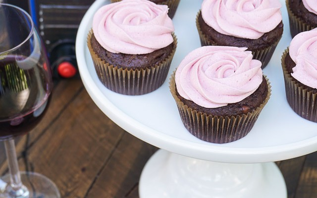 Chocolate Merlot Cupcakes Recipes
