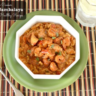 Heart Healthy Crock Pot Loaded Jambalaya