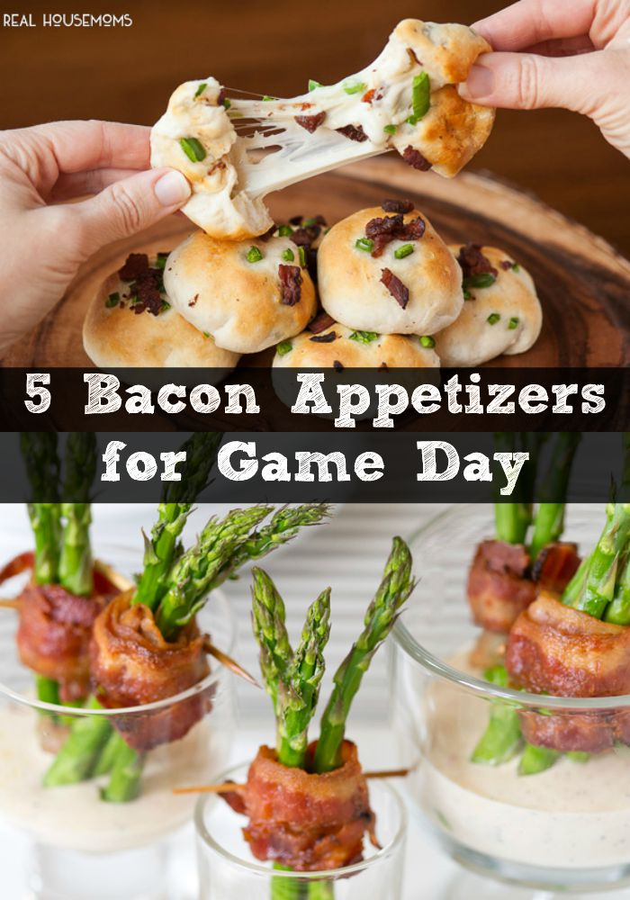 5 bacon appetizers for game day