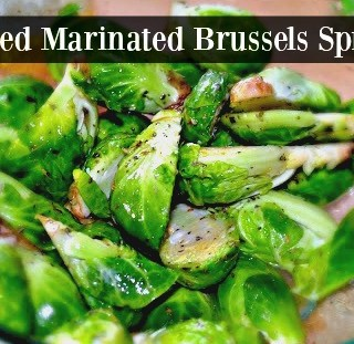 Marinated Grilled Brussels Sprouts Made Easy