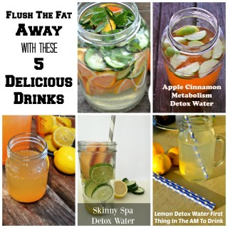 Flush the Fat Away with These 5 Delicious Detox Drinks