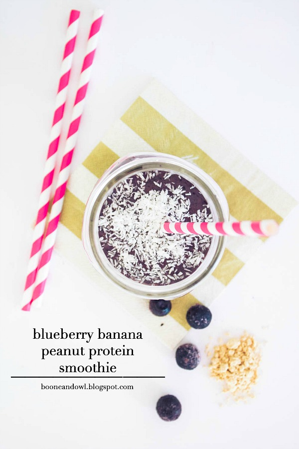 how to make a peanut butter banana smoothie with protein
