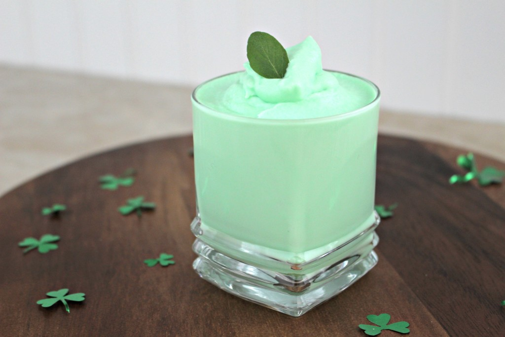 Peppermint Mousse Recipe for St. Patrick's Day