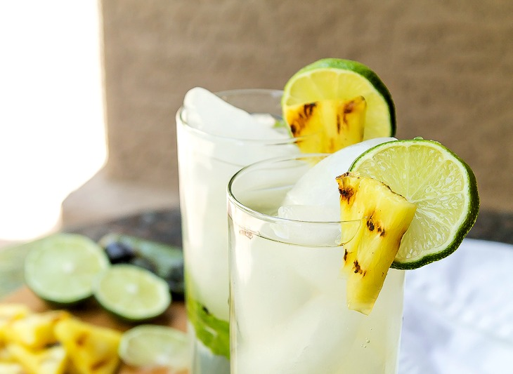 Grilled Pineapple Jalapeno Mojito-2