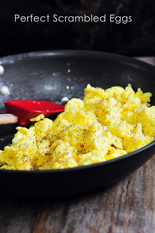 5 basic recipes scrambled eggs