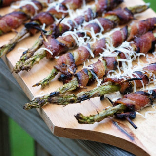 Bacon Wrapped Asparagus on the Grill!
