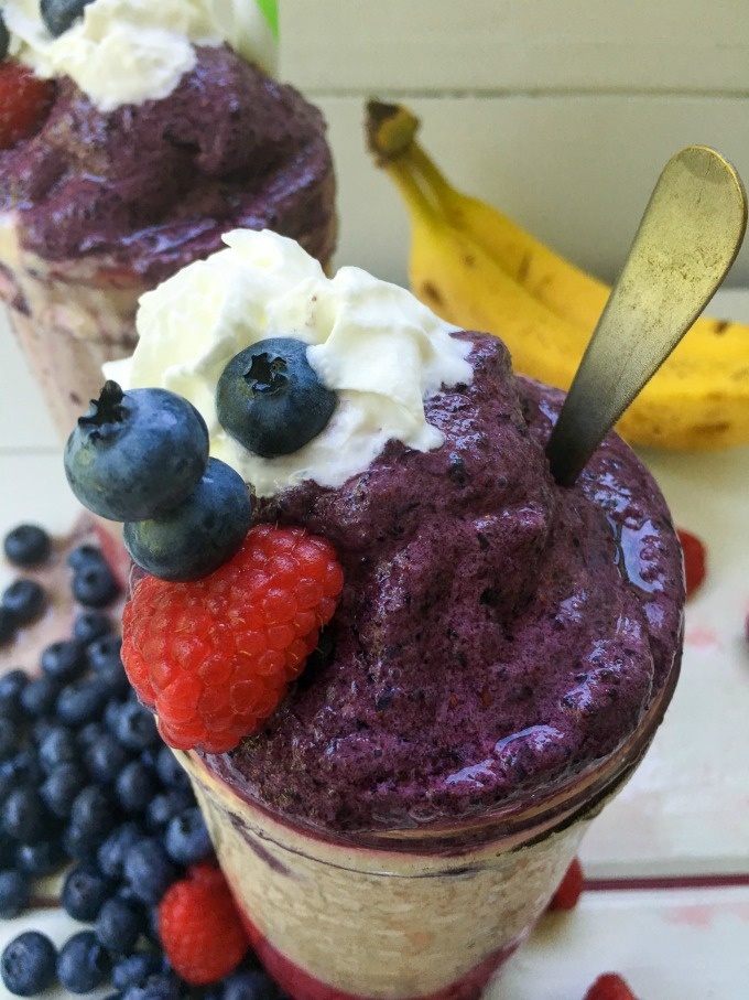 healthy smoothies with frozen fruit fruit in spanish