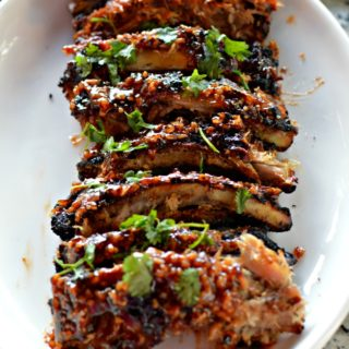 Oyster Sauce Garlic Asian BBQ Ribs