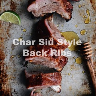 Grilled Back Ribs in Char Siu Sauce