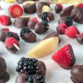 Dark Chocolate Dipped Fresh Fruit