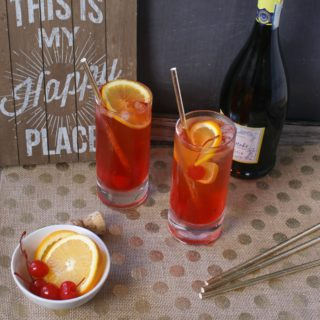 Champagne Shirley Temples Recipe
