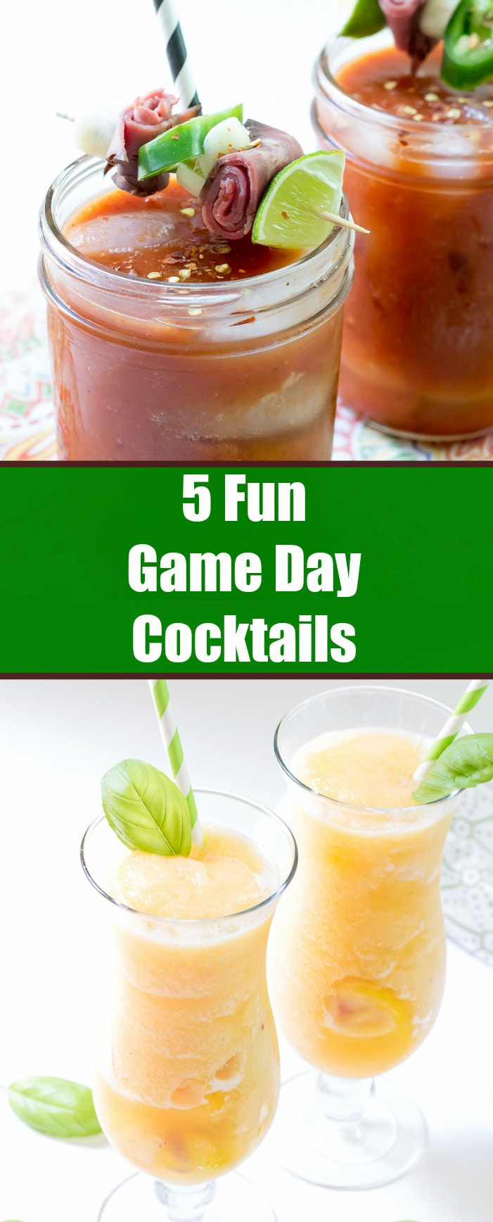5 Fun Game Day Cocktail recipes