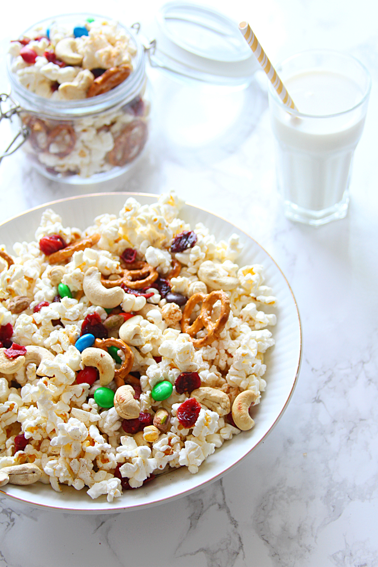 Popcorn Trail Mix Recipe — Dishmaps