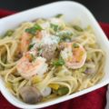 As the spring season draws closer, satisfy your cravings for lighter, easier meals with this One Pot Shrimp Vegetable Linguine. Simple to make, and easy to clean up!