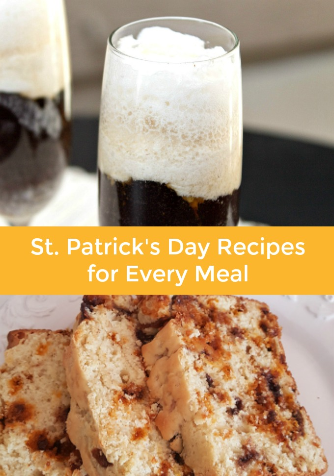 St. Patrick's Day Meal Plan
