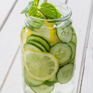 Cucumber Spa Water Health Benefits