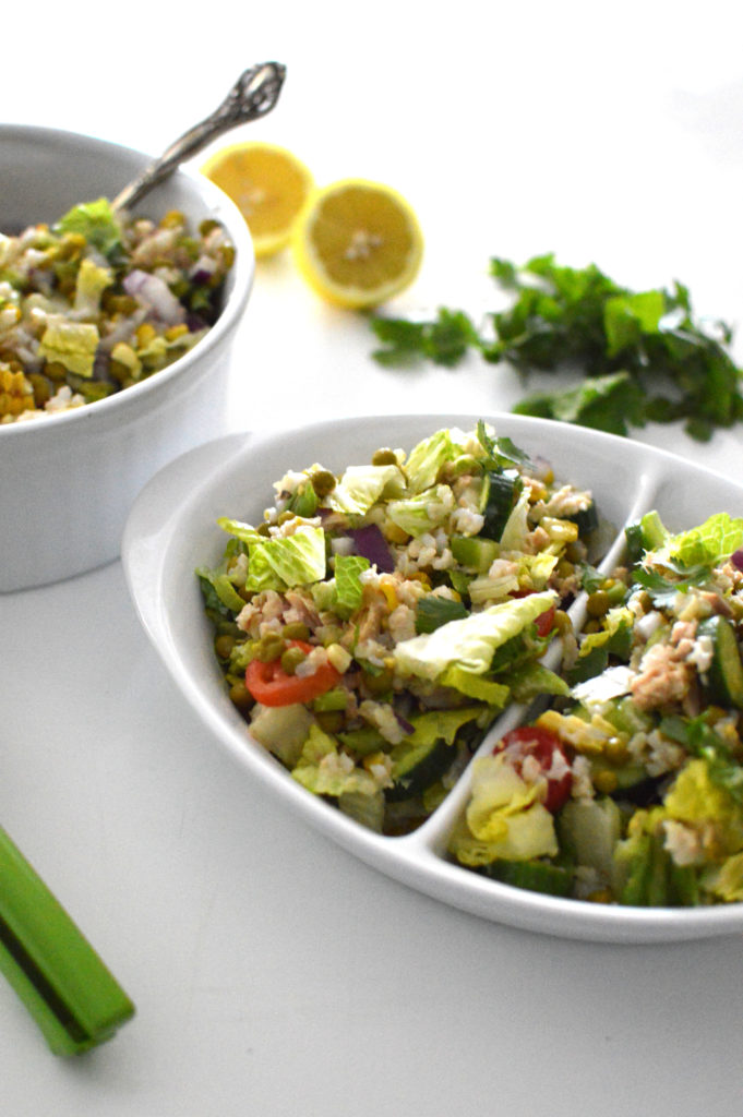 Get bikini ready for summer while still enjoying a flavorful meal with this recipe for High-Protein Summer Tuna Salad. If clean eating is your goal, this salad is what you need!