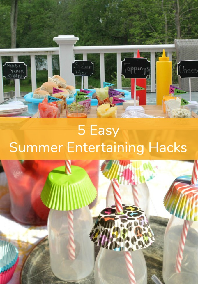 It doesn't matter if you are throwing a party to catch that someone special's eye or aiming to impress your favorite guests, these five easy Summer Entertaining Hacks are just what you need to be the ultimate host this summer.