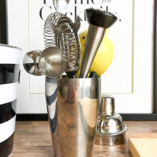 10 Essential Home Bar Cart Tools