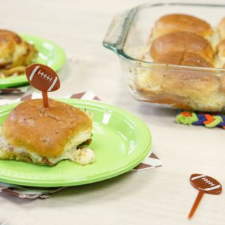 Game Day Hawaiian Pizza Sliders