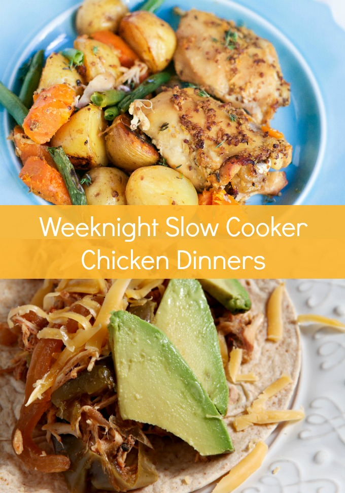 On busy weeknights, dinner is the last thing you want to worry about. These weeknight Slow Cooker Chicken Dinners are a great way to get a fulfilling meal on the table without a lot of fuss. Meal prep has never been this easy or delicious!