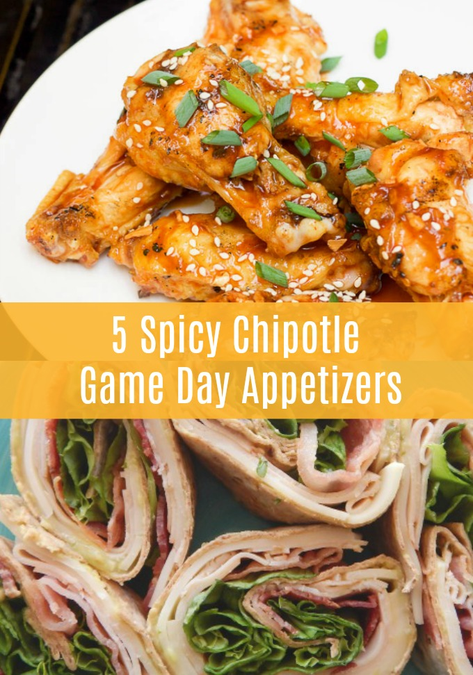 Spice up your game day fare when you serve these five Spicy Chipotle Tailgate Appetizers! Gone are the days of boring chips and dips because these healthier apps are where game day is really at!